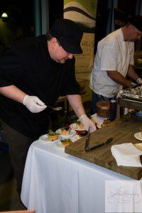 Chef Preparing Taster